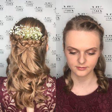 Braut Make-Up & Hochsteckfrisur