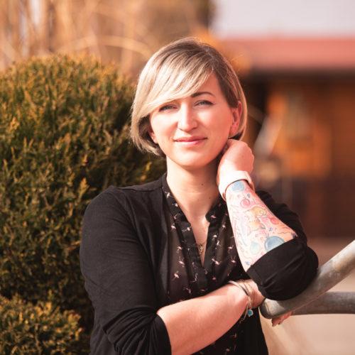 Nora Kaisers Schnitt Teammitglied